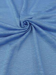 New Arrival! Sky Blue 100% Linen Knit 41W