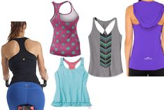 5 Cute Racerback Tanks to Show Off Your Sexy Back #SelfMagazine