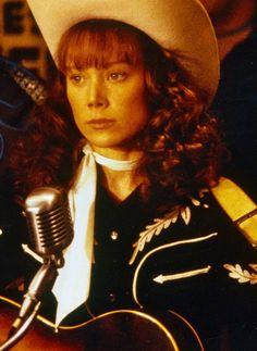 """Sissy Spacek as Loretta Lynn in """"Coal Miner's Daughter"""" ~ 1980."""