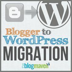 Blogger to WordPress migration by The Blog Maven   theblogmaven.com (Jeni makes it soooo easy and seamless!)