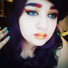 #makeup #eyeliner #eyebrows #myface #cosplayer ##makeup #eyeliner #eyebrows #myface #cosplayer #eyeshadow #mascara #rainbow #makeupartist #makeupfun #makeuptest #cosmetics #eyelashes #blueeyes #cute #pretty #lipstick #wig #cosplay #cosplaying #cosplaymakeup #sephora #sephoracolor
