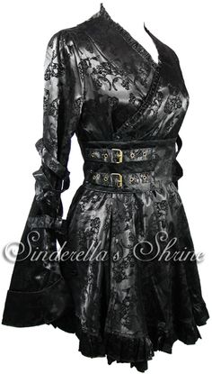 SALE Hell Bunny Victorian Kimono Steampunk Dress