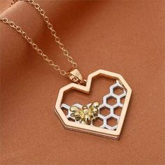 New for treat yourself to our stunning Rose Gold Necklace.Perfect as a gift for every Bee Lover. Product Information:Material: MetalMetals Type: Alloy - Rose Gold PlatedLength: Bee Necklace, Arrow Necklace, Gold Necklace, Pendant Necklace, Rose Gold Plates, Types Of Metal, Gold Heart, Silver, Gifts