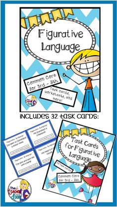 This 41 page Unit has everything you need to teach idioms, metaphors, similes, hyperboles, alliteration, onomatopoeia and personification.Fun for your students and helps them understand so many phrases we use in the English language. I love teaching these concepts to my kids! $