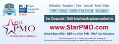 Dear Professional, who are Looking for Weekend #PMP Certification Training Program in Pune get in touch with StarPMO.We Offer the PMP Certification training in #Pune. Batches Starts from 16th May 2015. for more info visit our web site @ https://in.explara.com/e/pmp-certification-classess-in-pune-batches-starts-from-16th-may-2015-starpmo