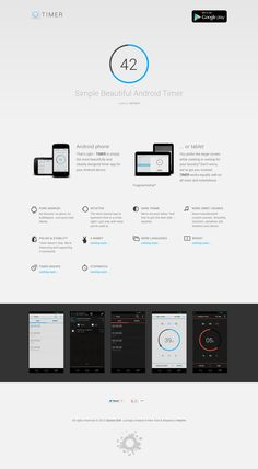 Timer website by Opoloo