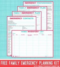 Emergency Planning Kit