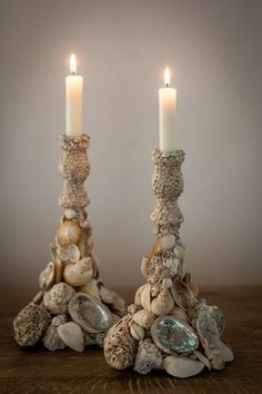 candle holders by carolyn brookes-davies