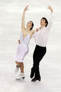 Tessa Virtue and Scott Moir - Canadian Olympic and world ice dance champions