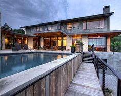 บ้านสวยบนเนินสูง Hill Country Residence - รวมแบบบ้านสวย