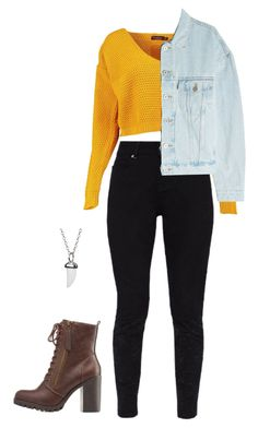 """""""#324"""" by mintgreenb ❤ liked on Polyvore featuring Ted Baker, Boohoo, Yeezy by Kanye West and Link Up"""