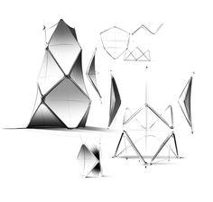 BeoLab 90 Enceinte Bang & Olufsen #design #enceinte #speaker #hightech #croquis #sketch