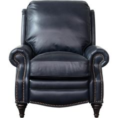 Find Midbury Leather Manual Recliner Darby Home Co online. Shop the latest collection of Midbury Leather Manual Recliner Darby Home Co from the popular stores - all in one Barcalounger, Leggett And Platt, Hardwood Plywood, White Dining Chairs, Lounge Chairs, Accent Chairs, Leather Recliner, Leather Chairs, Transitional Decor