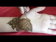 Very pretty mehndi design for front hands Very Simple Mehndi Designs, Mehndi Designs Book, Mehndi Design Pictures, Mehndi Designs For Girls, Wedding Mehndi Designs, Henna Designs Easy, Beautiful Mehndi Design, Latest Mehndi Designs, Mehandi Design For Hand