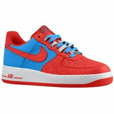 best sneakers fc849 2f6ea Nike Air Force 1 - Low - Mens 89.99 Selected Style Photo BlueHyper Red  Width D Medium Product  88298412