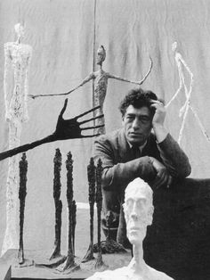 ALBERTO GIACOMETTI, Photographed by Gordon Parks, Paris, France, 1951. The Gordon Parks Foundation ©. / Emaze
