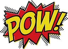 5 Best Images of Free Printable Superhero Pop Art - Pop Art Superhero Party Invitations, Free Printable Superhero Word Bubble and Superhero Pow Bam Boom Free Printables Batman Party, Batman Birthday, Superhero Birthday Party, Wonder Woman Party, Wonder Woman Birthday, Pop Art, Comic Book Style, Comic Books, Indie Comics