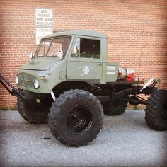 Unimog 404 is a great bug out vehicle.