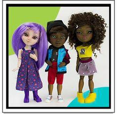 Makies - Fashion dolls 3D printed!