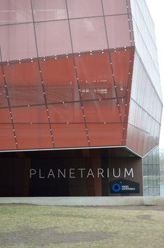 Wissenschaftszentrum Kopernikus (Planetarium), gebaut von RAr-2(2010), Wybrzeze Kosciuszkowskie 20,00-001 Warschau,Polen #architektur #architecture