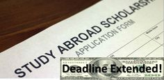 Deadline for four #SPCStudyAbroad scholarships is November 28th.