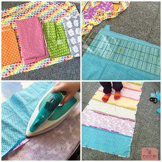 Mama-Tochter-Nähprojekt: Ein Regenbogen-Kissen für die Kuschelecke