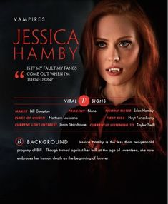Deborah Ann Woll as Jessica Hamby from the HBO hit TV show called True Blood. Hbo Tv Shows, Best Tv Shows, Serie True Blood, Is It My Fault, Jessica Hamby, Vampire Love, Vampire Girls, Deborah Ann Woll, Eric Northman