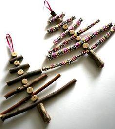 vánoční stromeček, vánoční dekorace návod, vánoční ozdoba, stromeček z větviček, vánoční stromeček z větví, návod jak udělat stromeček,  praktická žena