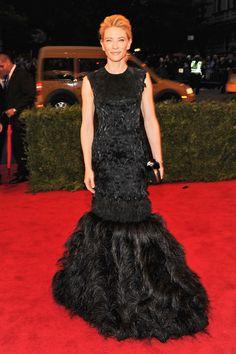 MET Gala - Cate Blanchett wears an Alexander McQueen gown and Van Cleef & Arpels jewelry