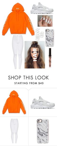 """""""Kylie"""" by maggie-lindemann130302 ❤ liked on Polyvore featuring NIKE and Casetify"""