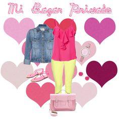 """Pink"" by estefaniatorrico on Polyvore"