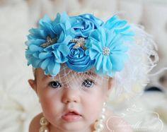 Marfil bebé bebé diademas bandas y arcos por OohLaLaDivasandDudes