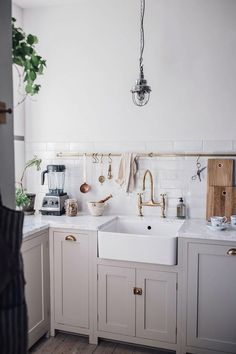 Image for Our new DeVol Kitchen in the Countryside Countryside Kitchen, Countryside Style, Kitchen And Bath, Kitchen Decor, Simple Interior, Interior Design, Scandinavian Style, Devol Kitchens, Vogue Living