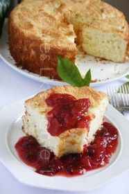 Sponge Cake > Sponge Cakes are made with basically three main ingredients – eggs, sugar and flour.