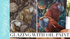 Glazing With Oil Paint - Time Lapse Oil Painting Demo