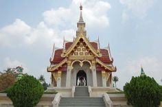 The City Pillar - Udon Thani. There are many temples in Udon Thani making a tourist visit marvelous and enchanting.