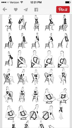 Chair poses