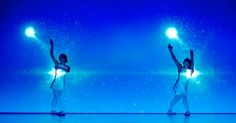 AWESOME!!!!!!  Japanese Performance Art Troupe Enra Shows Off Their Latest Creation With Dance And Light