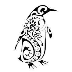 Tattoo of Penguin, Constancy tattoo - custom tattoo designs on TattooTribes.com
