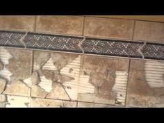 Tile Backsplash Removal Without Drywall Damage