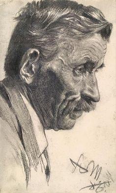 Artist / Adolph von Menzel.