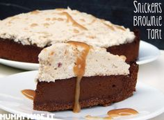 Snickers Brownie Tart (11)