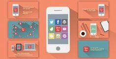 Minimal Flat App Promotion