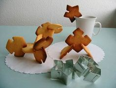 Puzzle Cookie Cutters. Cool!