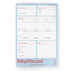 Babysitter pad