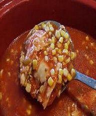 Weight Watchers Crockpot Chicken Tortilla Soup.
