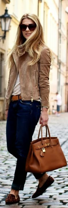 All Things Simplified:  Love This... An all around town outfit Fall winter fashion
