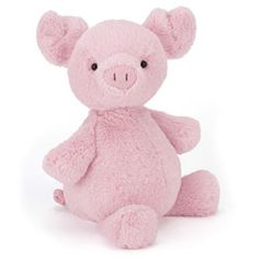 Jellycat Puffalope Piglet Only £14.95 for UK and International Delivery nearly 10% OFF RRP!