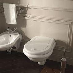 Retro Elongated Toilet Bowl