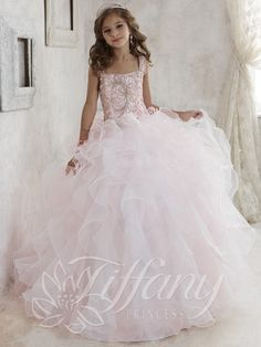 Tiffany Princess Pageant Dresses - Orlando Pageant Dress Store Tiffany Princess 13456 Tiffany Princess Orlando Prom and Pageant Dress Online Store - So Sweet Boutique Pagent Dresses For Kids, Little Girl Pageant Dresses, Pageant Gowns, Party Gowns, Girls Dresses, Flower Girl Dresses, Flower Girls, Prom Girl, Pretty Dresses For Kids